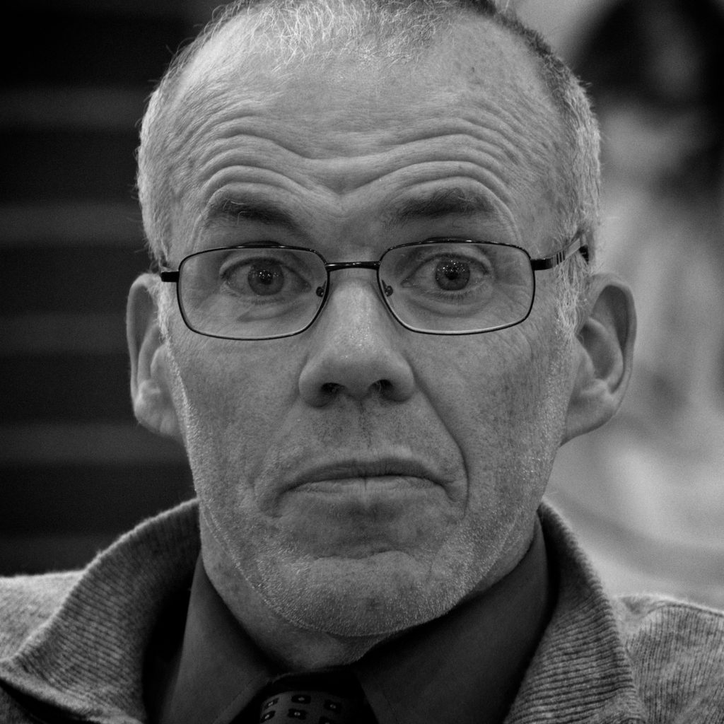 Bill McKibben speaking at JTM-Denver (Photo by Tom Yulsman)