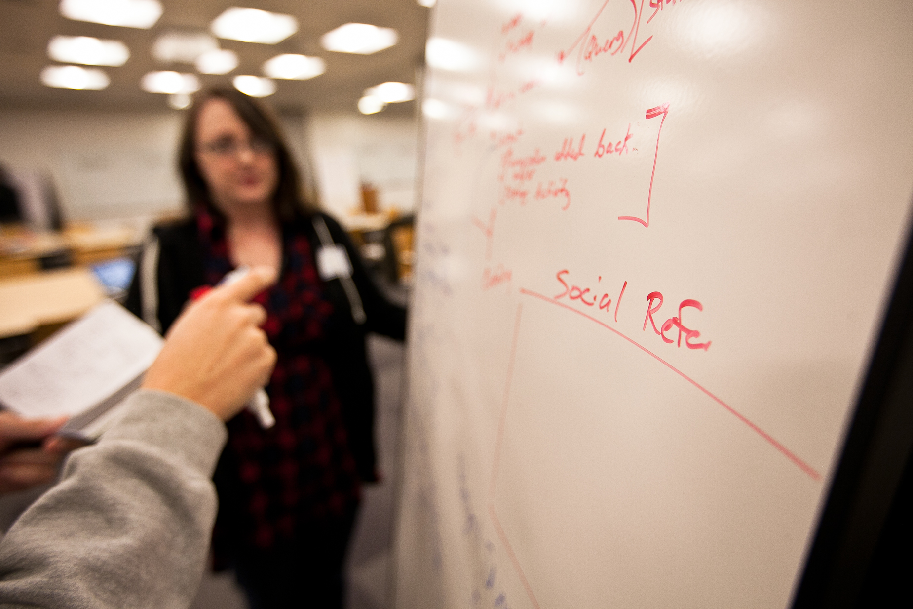 King 5 Hackathon whiteboard